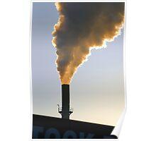Winter Sunrise over polluted Dandenong Vic Australia Poster