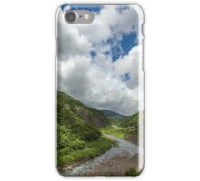 Green Valley in Mountains iPhone Case/Skin
