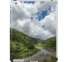 Green Valley in Mountains iPad Case/Skin