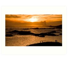 Viewing Sunset Art Print