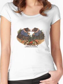 Matching Mole Self Titled Women's Fitted Scoop T-Shirt
