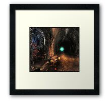 Lair of the Cyclops Framed Print