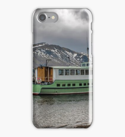 Tourist Boat at Glennridding iPhone Case/Skin