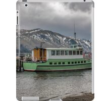Tourist Boat at Glennridding iPad Case/Skin
