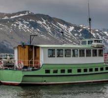 Tourist Boat at Glennridding Sticker