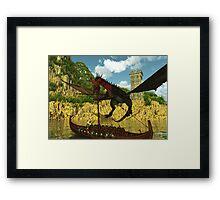 Buckaneer Island Framed Print