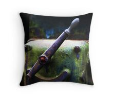 Well worn handle Throw Pillow