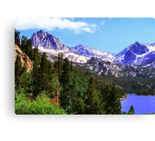 High Above The Lake Canvas Print