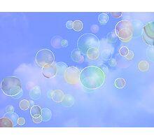 Bubbles Away! Photographic Print
