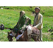 2008 05 03 Family of Pashtun`s  Photographic Print