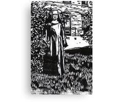 The Nun Canvas Print