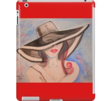 Baby..., Can I Leave my Hat on? iPad Case/Skin