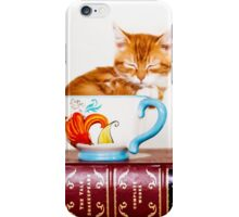 Teacup Kitten iPhone Case/Skin