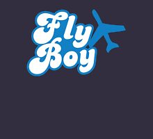 Fly Boy with jet plane Unisex T-Shirt