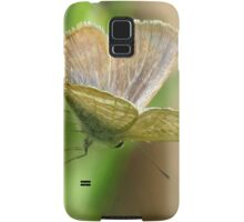 Poised - Long-tailed Pea Blue Butterfly Samsung Galaxy Case/Skin