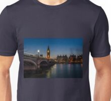 Westminster Bridge and Big Ben, London Unisex T-Shirt