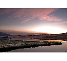 Frosty Drakensberg sunrise Photographic Print