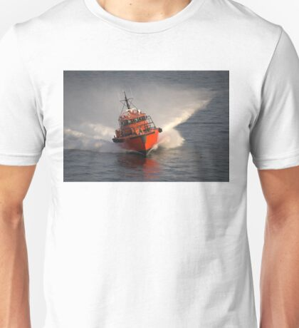 Pilot Boat At Speed Unisex T-Shirt