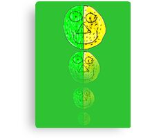 The Green and Yellow one Canvas Print