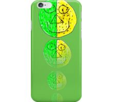 The Green and Yellow one iPhone Case/Skin