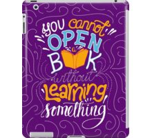 Reading is Learning iPad Case/Skin