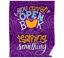 Reading is Learning Poster