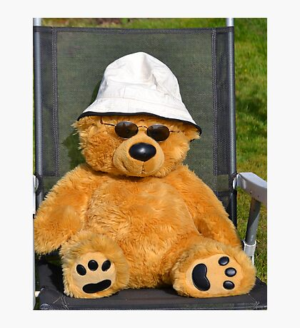 One Cool Bear Photographic Print