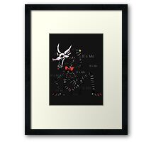 Five Nights at Freddy's Mangle - It's Me Framed Print
