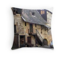 Olde World Charm, Colmar, France Throw Pillow