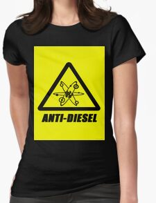 Anti-Diesel Womens Fitted T-Shirt