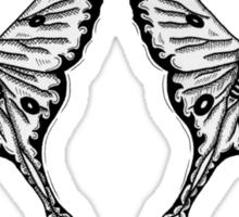 Mirror Moth Sticker