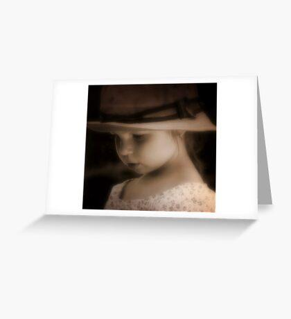 Gramma's hat Greeting Card