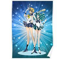 Sailor Uranus and Neptune Poster