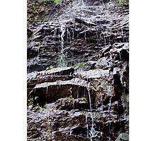 semi water fall Photographic Print