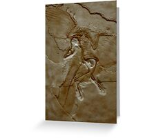 Prehistoric Angel Greeting Card