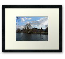 Zurich, Switzerland Framed Print