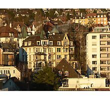 City of Zurich, Switzerland Photographic Print