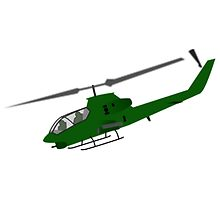 Army Helicopter by NetoboDesigns