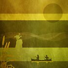 Ducks: Standing: CC10 Gold by Steven House