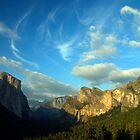 Yosemite Valley Cloudscape by Benjamin Padgett