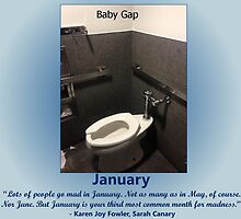 Toilets of New York 2015 January - Baby Gap by newbs