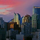 Vancouver Skyline at Sunset by Tom  Reynen