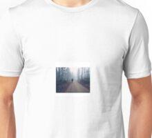 Man in Norwegian woods (w/white background) Unisex T-Shirt