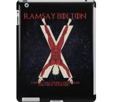 Ramsay Bolton iPad Case/Skin