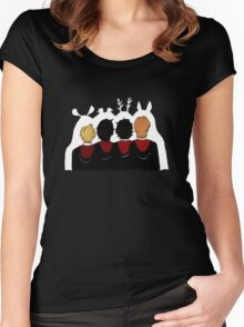 The Marauders Ears Women's Fitted Scoop T-Shirt