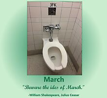 Toilets of New York 2015 March - JFK by newbs