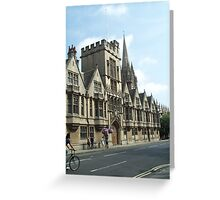 Street of Oxford Greeting Card