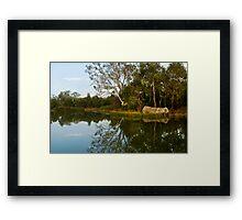 Mount Barker Wet Lands Framed Print