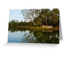 Mount Barker Wet Lands Greeting Card