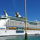 Royal Caribbean in Sydney Harbour by GeorgeOne